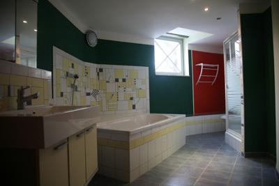 Ebene 4: Hauptbad mit Dusche