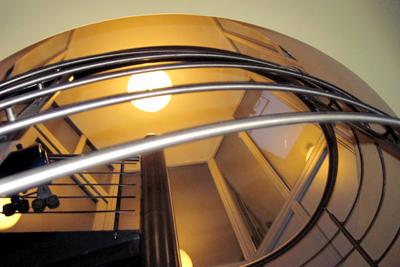 Ebene 6: Treppenaufgang zur Dachterasse